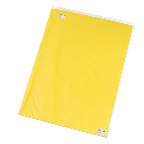 Moosgummiplatte 500 x 700 x 3 mm gelb