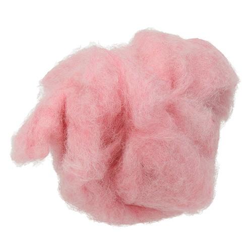 Wolle zum Filzen reine Schurwolle 30 g puderrosa