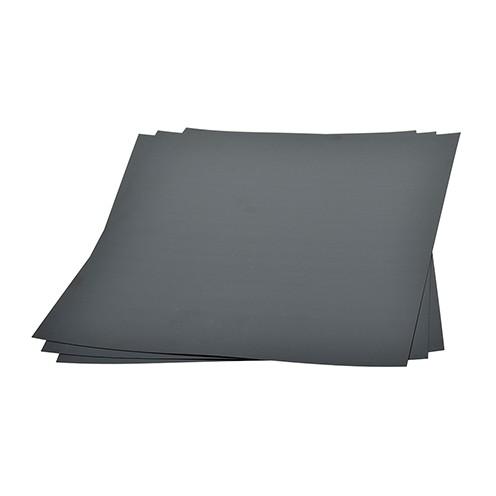 Schrumpffolie mattiert 20 x 30 cm 3 Stk. schwarz