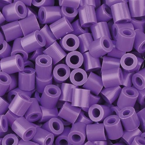 Nabbi® - Bügelperlen ~Ø 5 x H 5 mm 1.100 Stk. violet Nr.32234