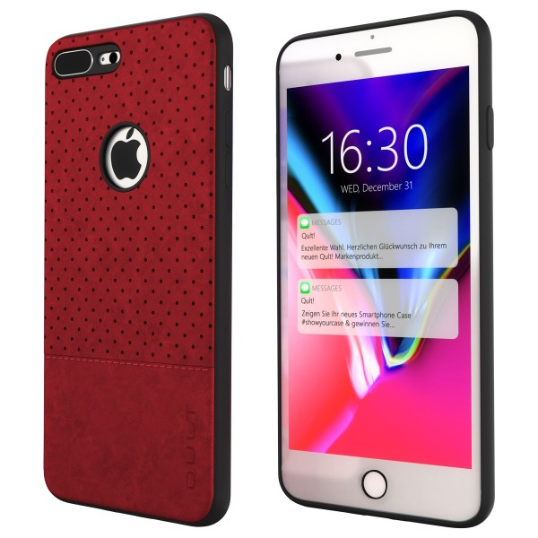 "BACK CASE QULT """"DROP"""" iPhone 7 Plus 5.5"""" red"