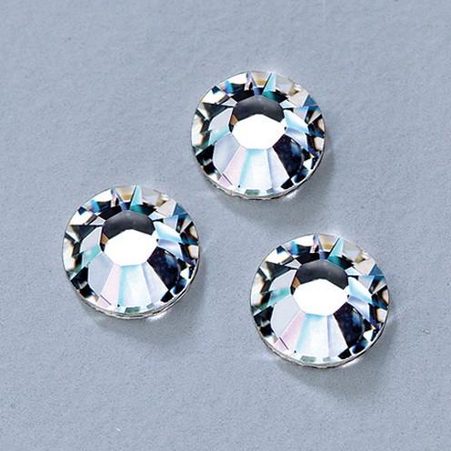 Swarovski Strass-Flachsteine ø 5 mm 10 Stk. crystal