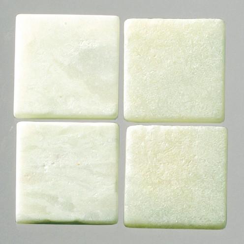 MosaixPur-Echtstein 10 x 10 x 4 mm 1.000 g ~ 1050 Stck. hellgrün