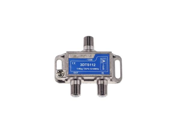 3DTS112 1-fach Abzweiger 12dB, 5-1218 MHz