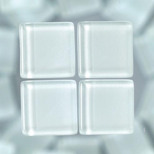 MosaixSoft-Glassteine 10 x 10 x 4 mm 200g ~ 215 Stk. weiß
