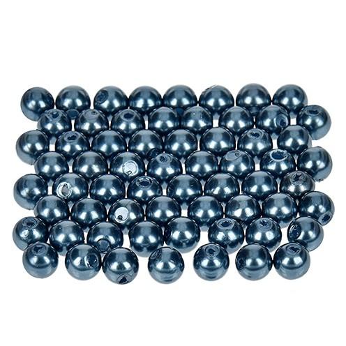 Wachsperlen ø 6 mm 60 Stk. blau
