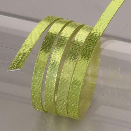 Aludraht eloxiert Struktur flach 1 x 5 mm 2 m Limette
