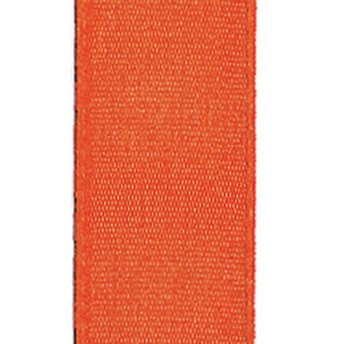 Dekoband Standard waschbar 30° 8 mm orange