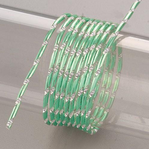 Aludraht eloxiert Diamant ø 2 mm 2 m grasgrün