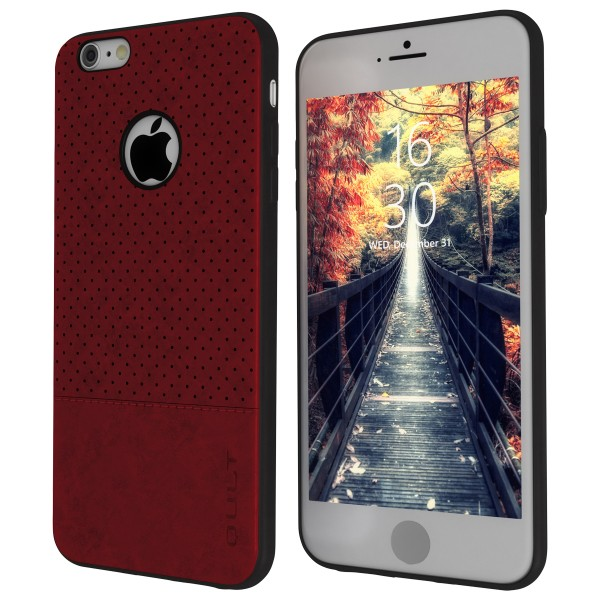 "BACK CASE QULT """"DROP"""" iPhone 6/6s 4.7"""" red"