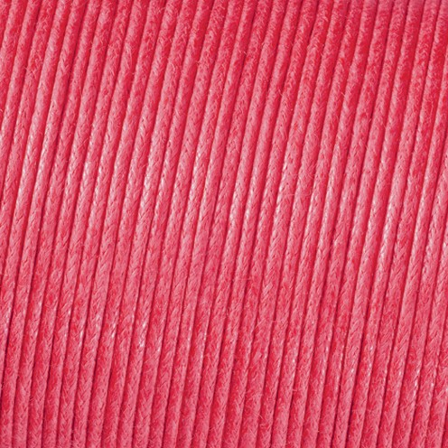 Baumwollkordel gewachst ø 2,0 mm pink