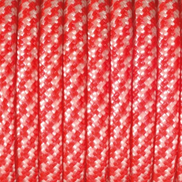 Paracord Farbmix 4 mm x 50 m rot weiß