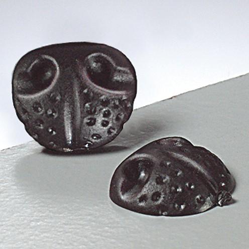Tiernasen zum Kleben 18 mm 25 Stk. schwarz