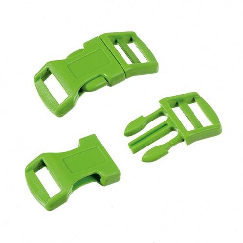 Klickschnalle 16 / 20 mm 8 Stk. hellgrün