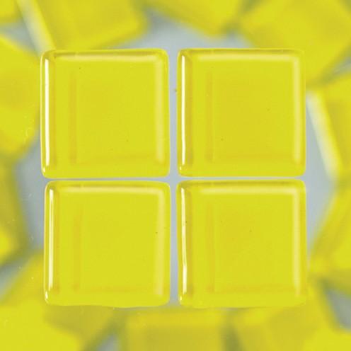MosaixSoft-Glassteine 20 x 20 x 4 mm 200 g ~ 41 Stk. gelb