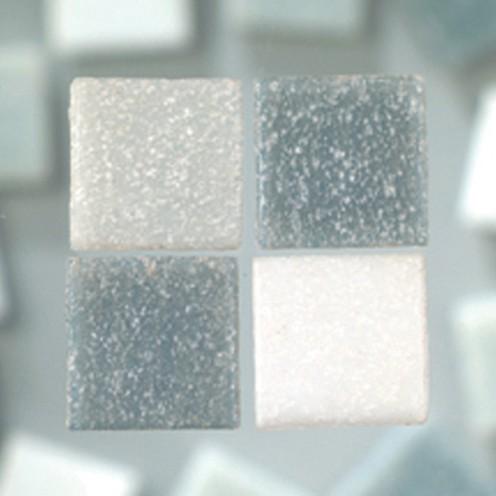 MosaixPro-Glassteine 20 x 20 x 4 mm 200 g ~ 63 Stk. graumix