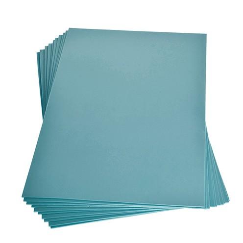 Moosgummiplatte 200 x 300 x 2 mm hellblau