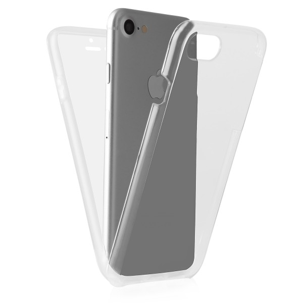 BACK CASE 360 iPhone X transparent