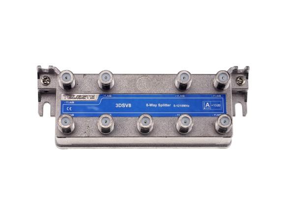 3DSV8 8-fach Verteiler 5-1218 MHz, TAP-Bauform