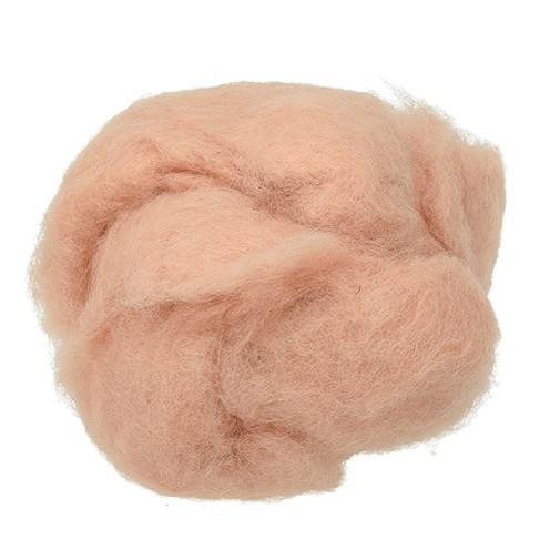 Wolle zum Filzen reine Schurwolle 30 g haut