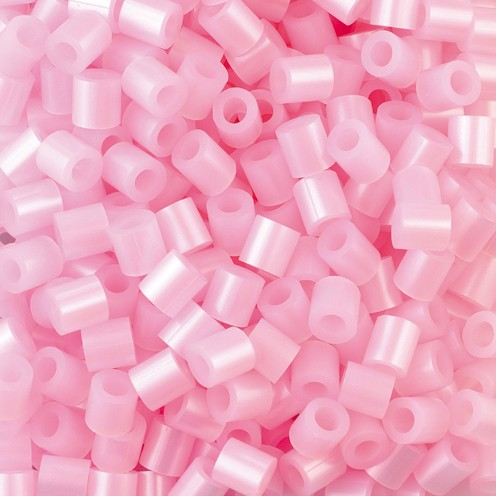 Nabbi® - Bügelperlen ~Ø 5 x H 5 mm 1.100 Stk. rosa perlmutt Nr.32259