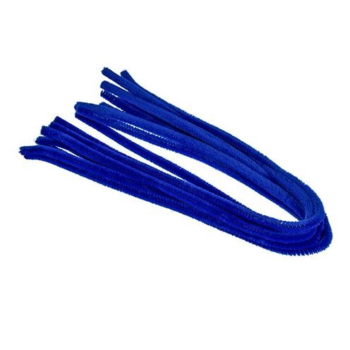 Pfeifenputzer ø 8 mm / 50 cm 10 Stk. blau