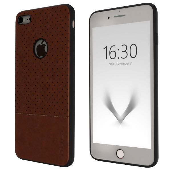 "BACK CASE QULT """"DROP"""" iPhone 8 4.7"""" brown"