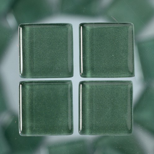MosaixSoft-Glassteine 20 x 20 x 4 mm 1.000 g ~ 260 Stk. grün
