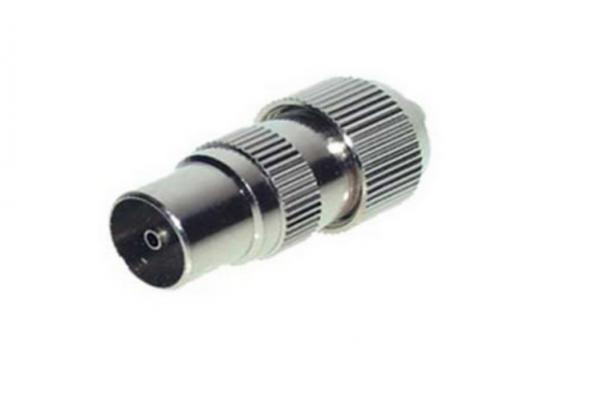 Koaxialstecker, CE, Metall