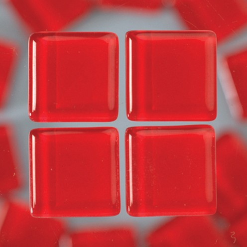 MosaixSoft-Glassteine 20 x 20 x 4 mm 1.000 g ~ 260 Stk. rot