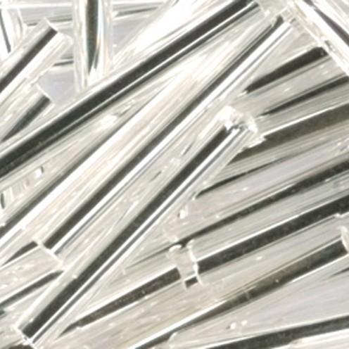 Stiftperlen Silbereinzug ø 2 x 20 mm 500 g silber