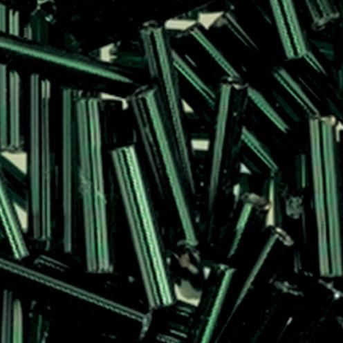 Stiftperlen Silbereinzug ø 2 x 11 mm 13 g grün