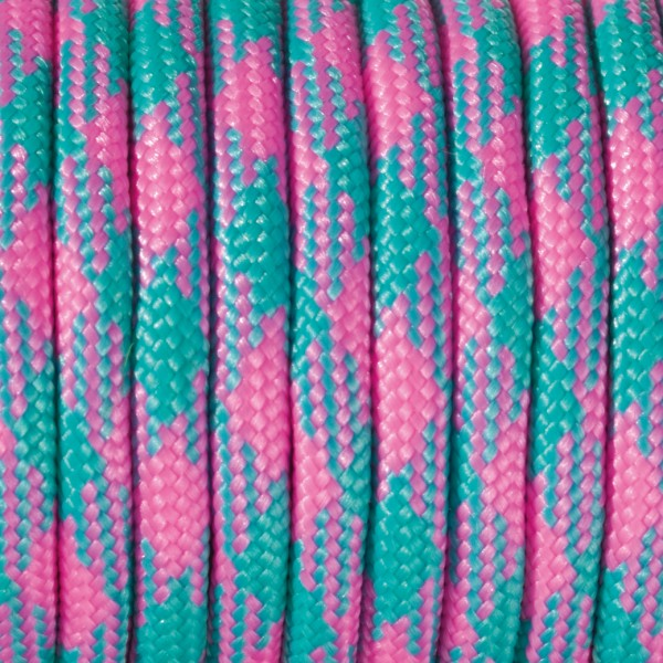 Paracord Farbmix 4 mm x 50 m pink
