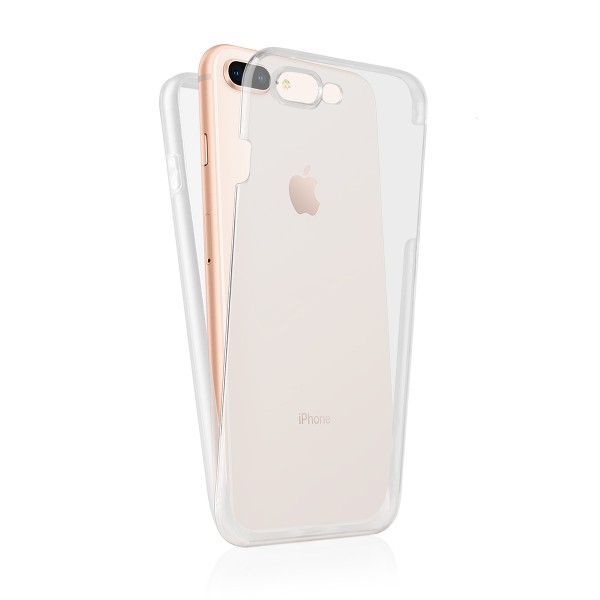 "BACK CASE 360 iPhone 8 5.5""PLUS transparent"