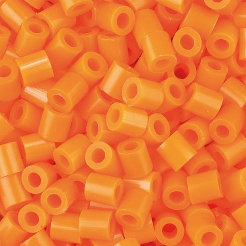 Nabbi® - Bügelperlen ~Ø 5 x H 5 mm 1.100 Stk. orange Nr.32233
