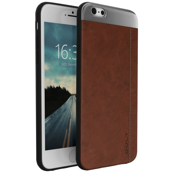 """BACK CASE QULT """"""""SLATE"""""""" iPhone 6/6s 5.5"""""""" PLUS brown"""
