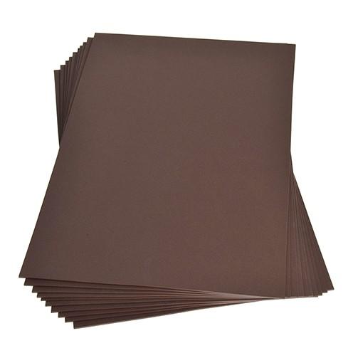 Moosgummiplatte 200 x 300 x 2 mm braun