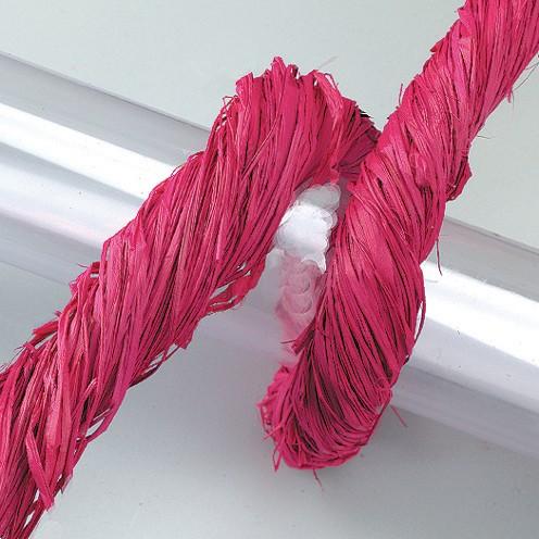 Raffia-Gartenbast 50 g pink