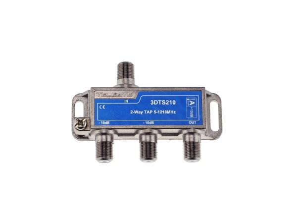 3DTS210 2-fach Abzweiger 10dB, 5-1218 MHz