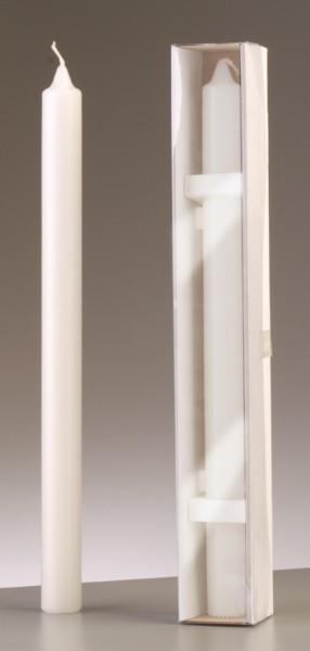 Anlass-Kerze ø 30 x H 400 mm weiß