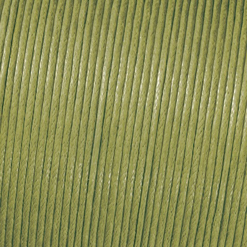 Baumwollkordel gewachst ø 1 mm grün