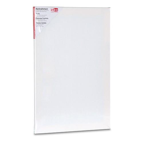 Keilrahmen bespannt 40 x 60 cm / 1,7 cm weiß