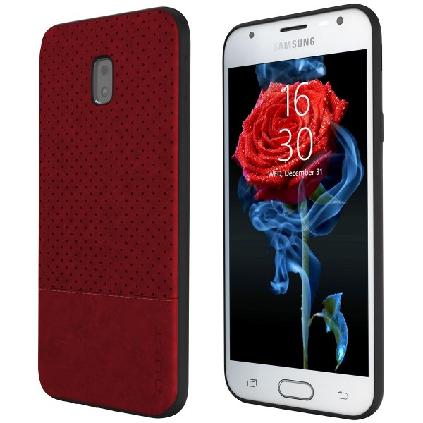 "BACK CASE QULT """"DROP"""" SAMS.J730 J7 2017 red"