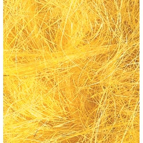 Sisalwolle 50 g gelb