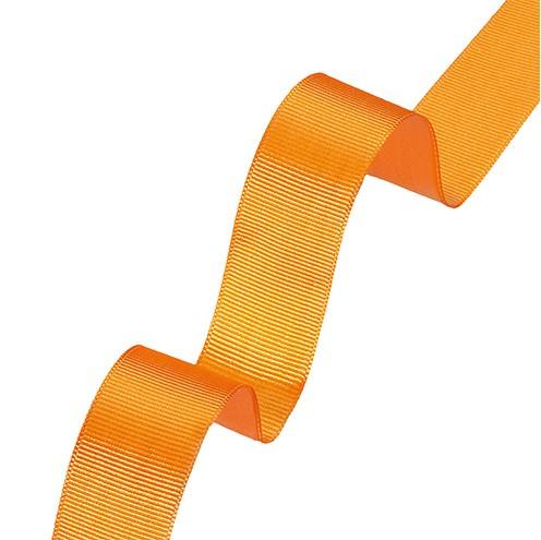 Dekoband Rips 25 mm orange