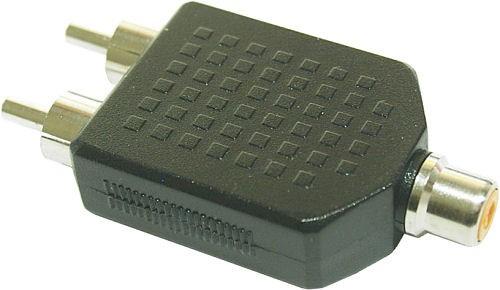 InLine Audio Adapter - Cinch Buchse an 2x Cinch Stecker