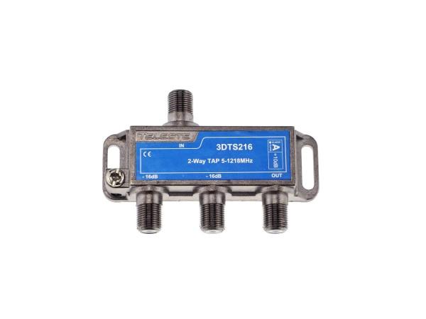 3DTS216 2-fach Abzweiger 16dB, 5-1218 MHz