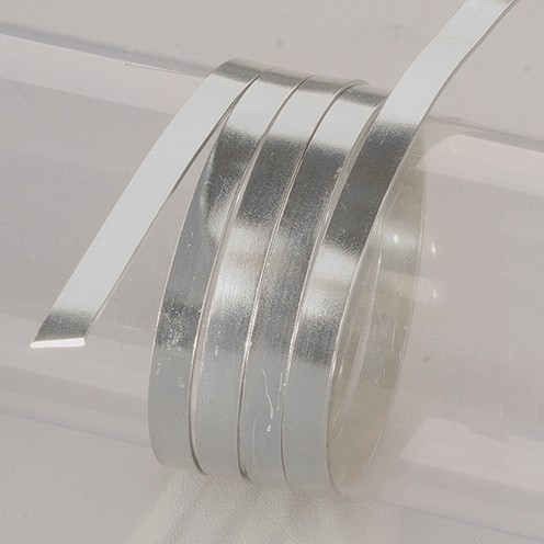 Aludraht eloxiert flach 1 x 5 mm 2 m grau